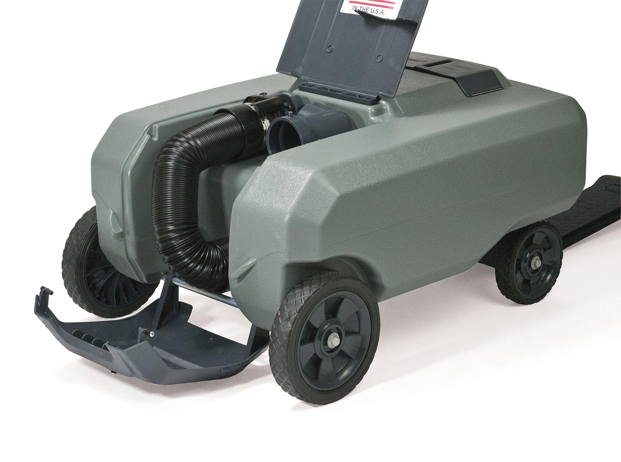 SmartTote2 RV Portable Waste Tote Tank - 4 Wheels - 35 Gallon - Thetford 40519 by SmartTote2 (Image #10)