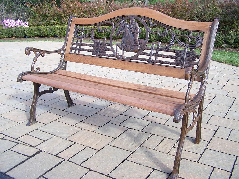 Oakland Living Horse Bench