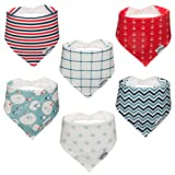 Amazon Price History for:Koala Little Baby Bandana Drool Bibs for Drooling and Teething, 100% Organic Cotton, Unisex 6 Pack Gift Set for Girls or Boys