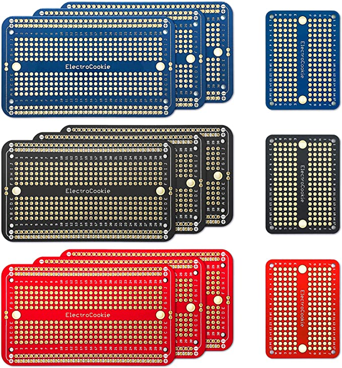 pcb proto circuit board tinned breadboard for electronic diy projects 5//10pcs 3