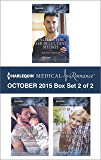 Harlequin Medical Romance October 2015 - Box Set 2 of 2: Falling for Her Reluctant Sheikh\Father for Her Newborn Baby\Safe in the Surgeon's Arms