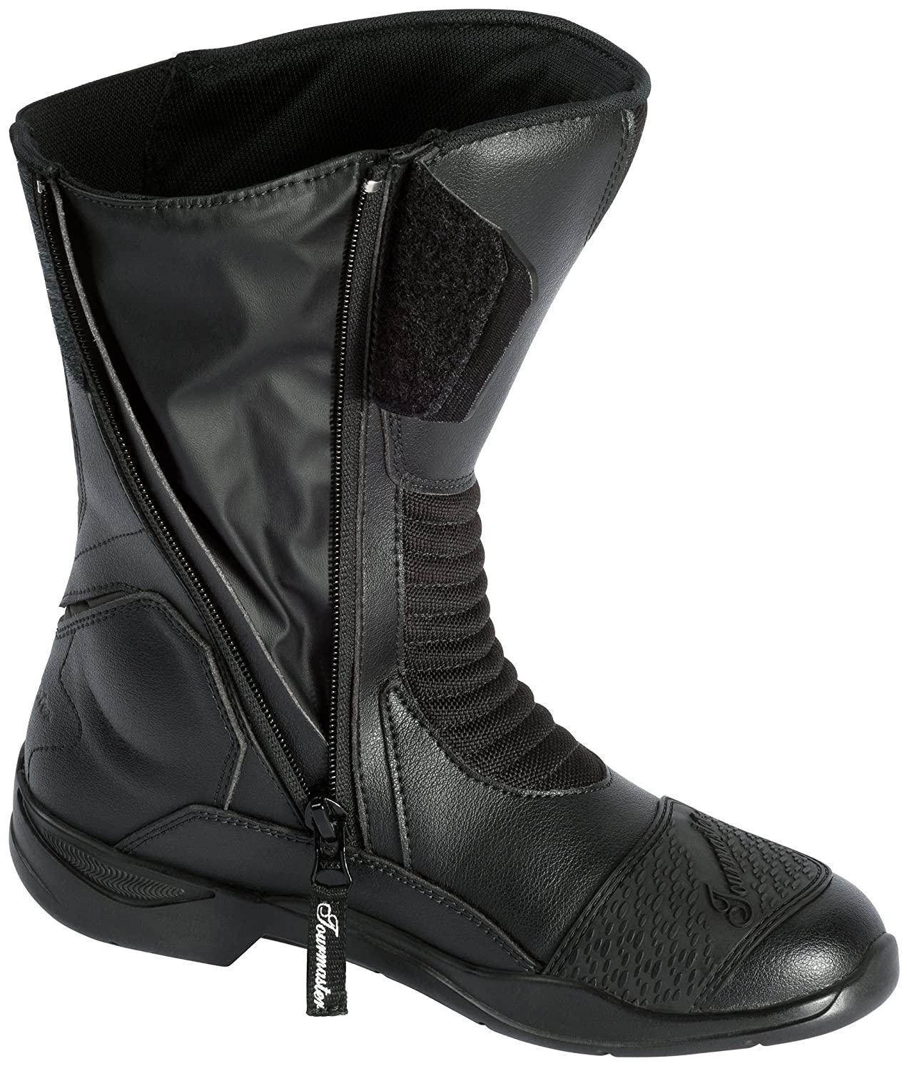 d589ec73e5dd1 Amazon.com  TourMaster Women s Trinity Touring Motorcycle Boots (Black