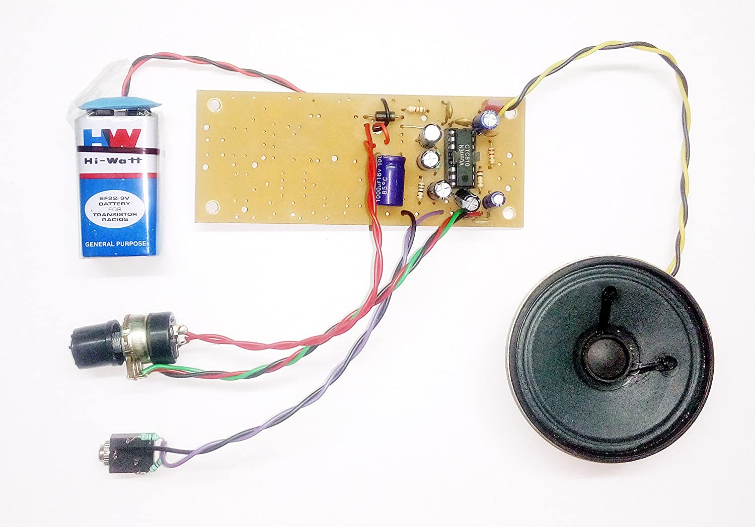 Pke 810 Ic Amplifier Circuit Stk4050 Audio With 200w Output