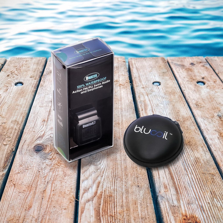 Smallest 100% Waterproof Swim Digital PLL FM Radio & Earphones ...