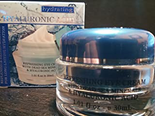 product image for Refreshing eye cream with dead sea minerals & hyaluronic acid