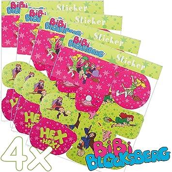 Bibis Basteltipps 32 Teiliges Sticker Set Bibi Blocksberg