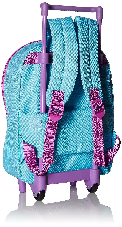 Disney Girls Rolling Backpack Purple Image 2