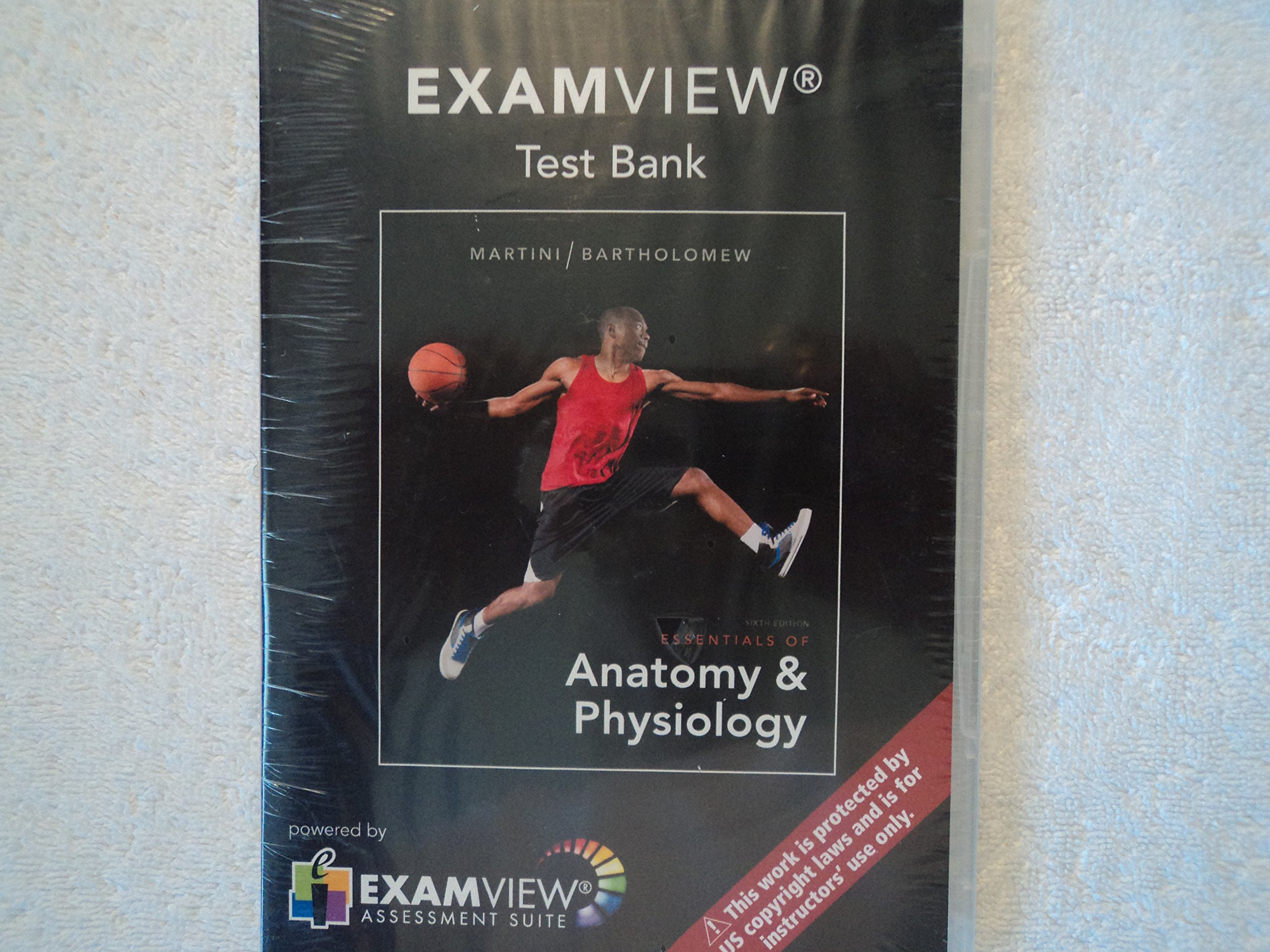 Examview Test Bank: Essentials of Anatomy & Physiology: Bartholomew ...