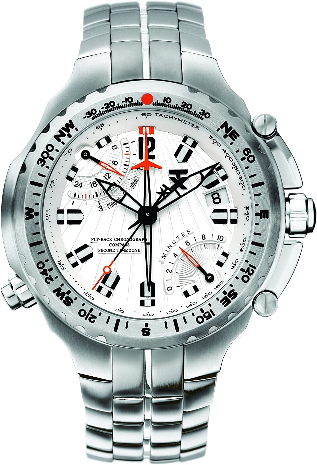 TX Men s T3B861 700 Series Sport Fly-Back Chronograph Dual-Time Zone Watch