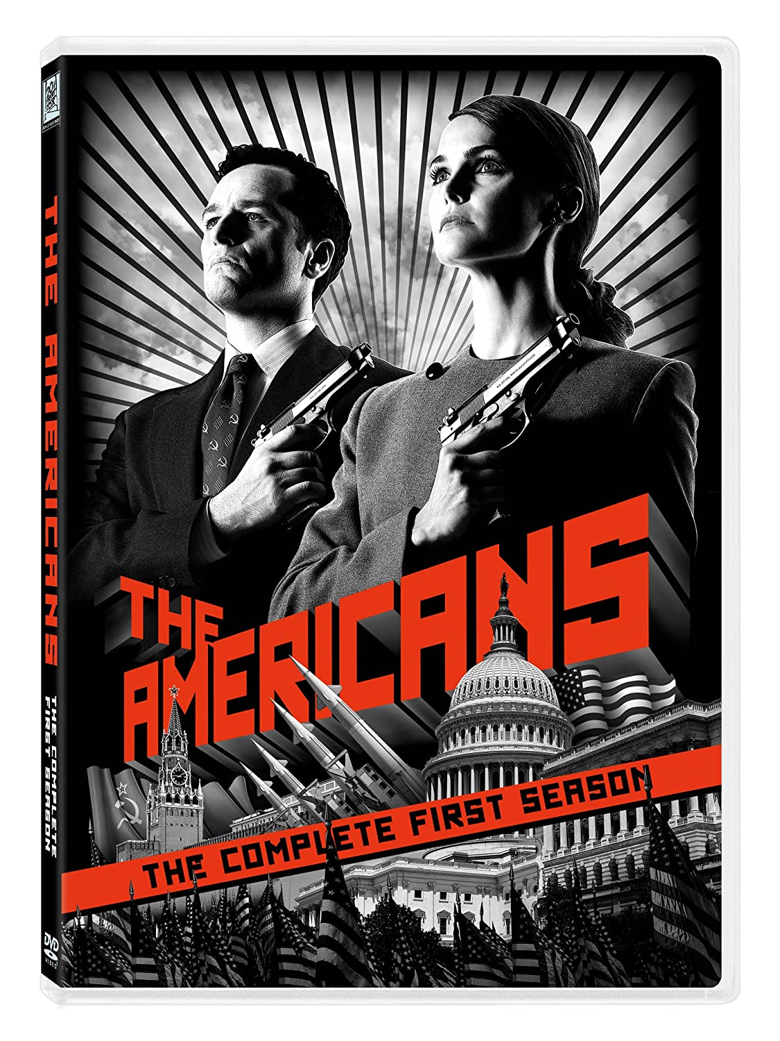 The Americans: The Complete First Season Keri Russell Matthew Rhys Holly Taylor Keidrich Sellati