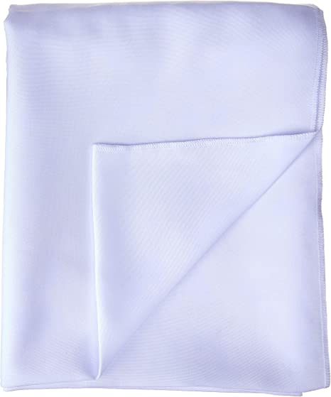 Ivory 4 Rod Pocket//Pack of 1 LA Linen 58 Wide by 144 High Polyester Poplin Backdrop Drape