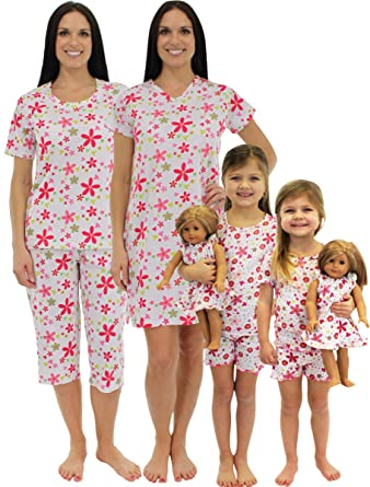 d9a93ebf4c SleepytimePjs Mommy   Me Matching Pjs (Flower Power