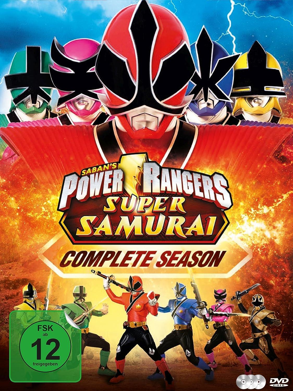 Amazon.com: POWER RANGERS-SUPER SAMUR - MO [DVD] [2012 ...