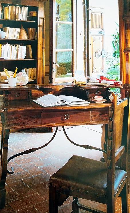 Mobili di Castello Escritorio con Hierro Forjado: Amazon.es: Hogar