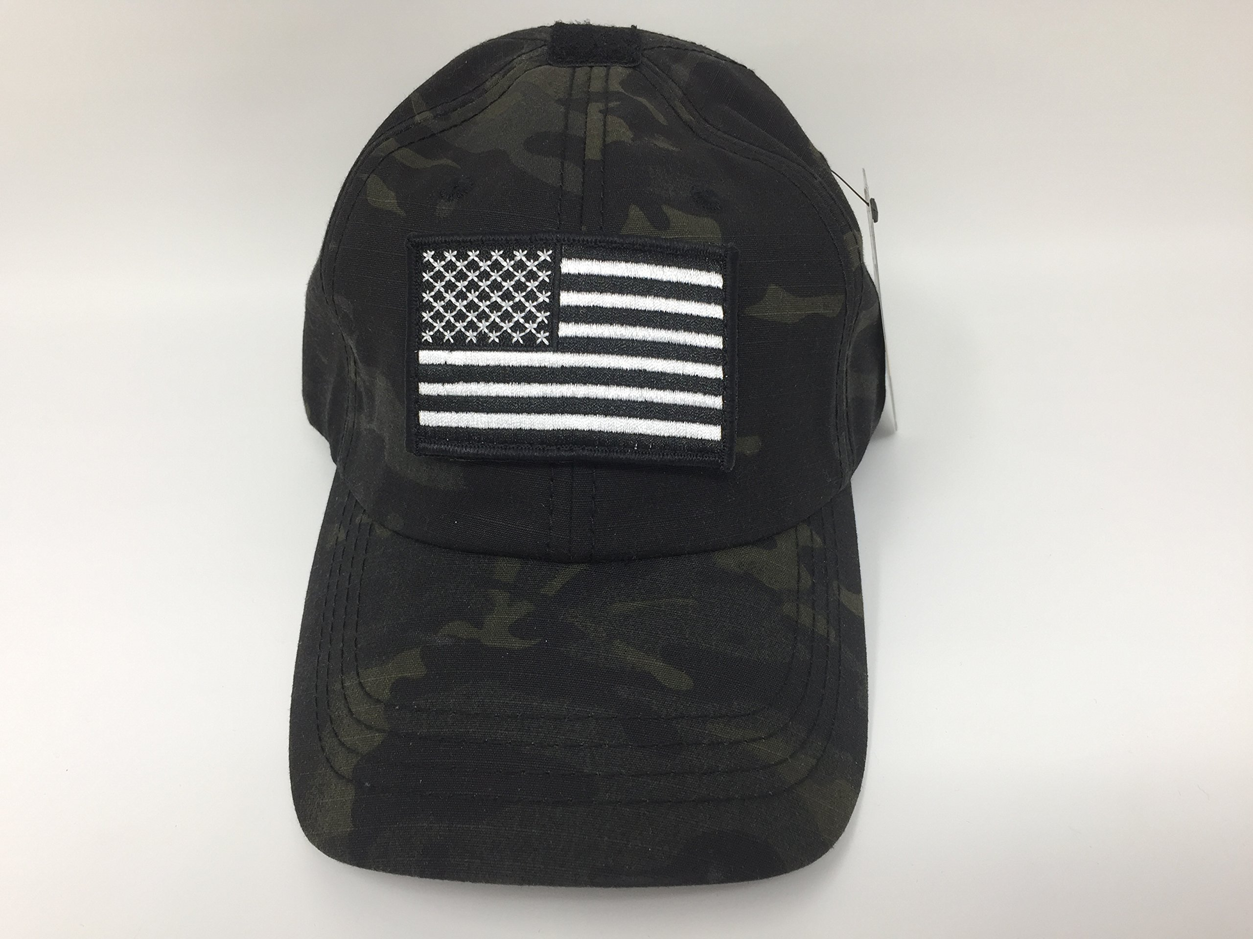 Condor Multicam Mesh Tactical Cap /& USA Flag Patch Stitching /& Excellent Fit for Most Head Sizes