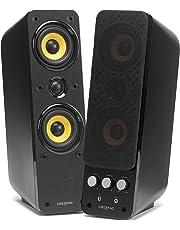 Creative GigaWorks T40 Series II - 2.0 Lautsprechersystem (Hi-Fi, Stereo/AUX-IN, Line-IN/16W RMS) schwarz