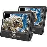 sigmatek pdx 1320 lecteur dvd portable 7 double cran noir lecteurs mp3 casques. Black Bedroom Furniture Sets. Home Design Ideas