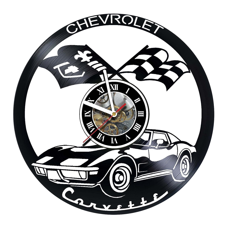 kravchart Chevrolet – B07D17B8RC ハンドメイドビニールレコード壁時計 – – アートワークギフトアイデアの誕生日 kravchart、クリスマス、レディース、メンズ、友人、ガールフレンドボーイフレンドとティーン – リビング子供部屋保育園 B07D17B8RC, 沸騰ブラドン:bc9d22e5 --- ijpba.info