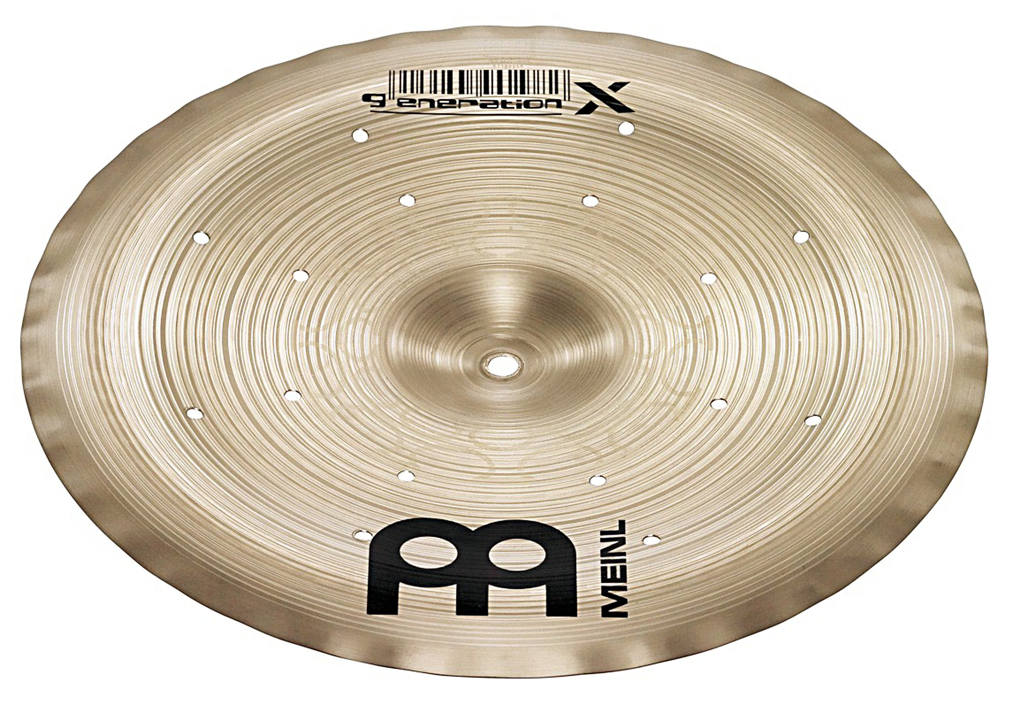 Meinl Cymbals GX-12FCH Generation-X 12-Inch Filter China Cymbal (VIDEO)