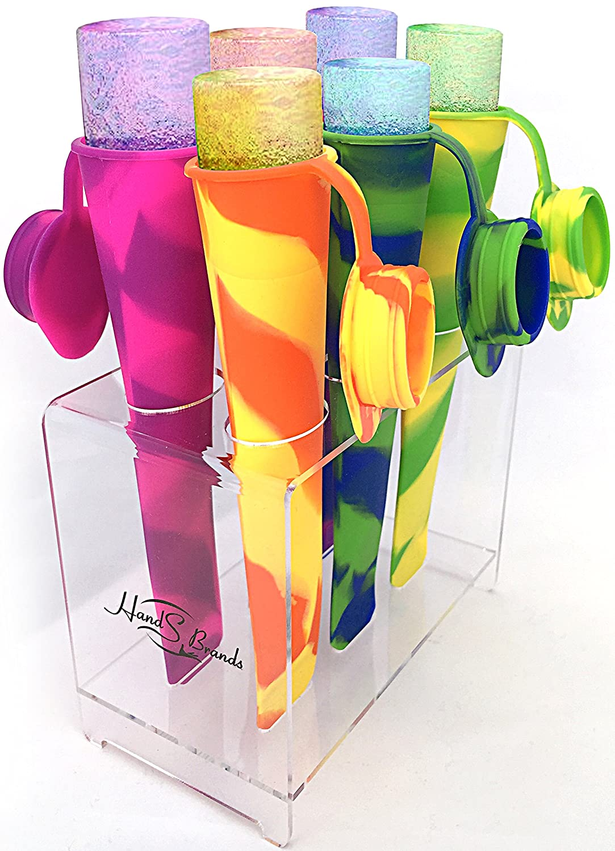 Amazon.com: healthpop Popsicle Moldes de Silicona con ...