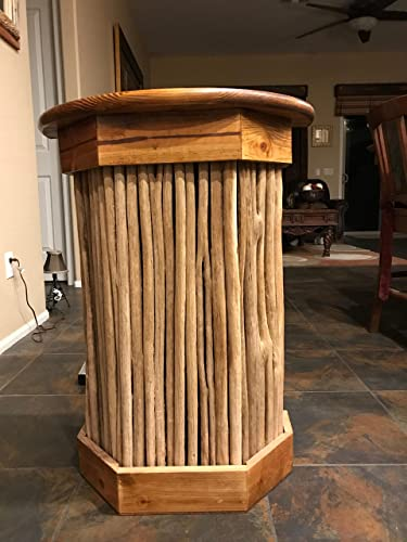 Unique, Saguaro Rib Wall Table