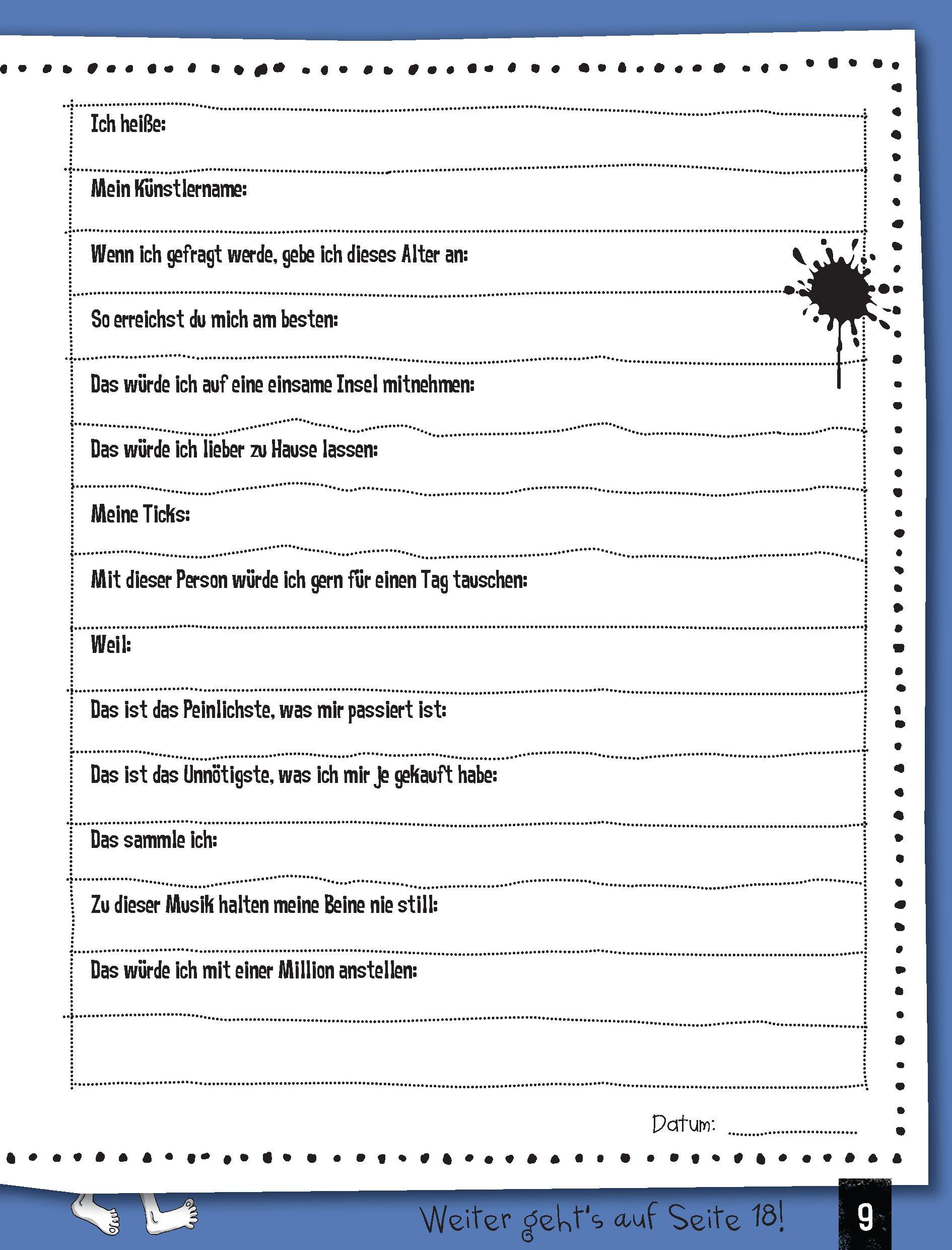 Fragen freundschaftsbuch erwachsene