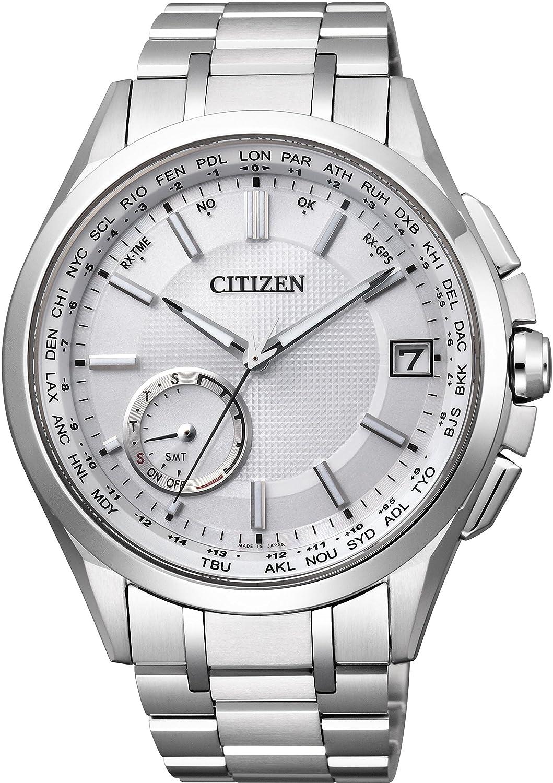 [シチズン]CITIZEN 腕時計 ATTESA アテッサ エコドライブGPS衛星電波時計 F150 ダイレクトフライト 針表示式 CC3010-51A メンズ B010LTQ16Q