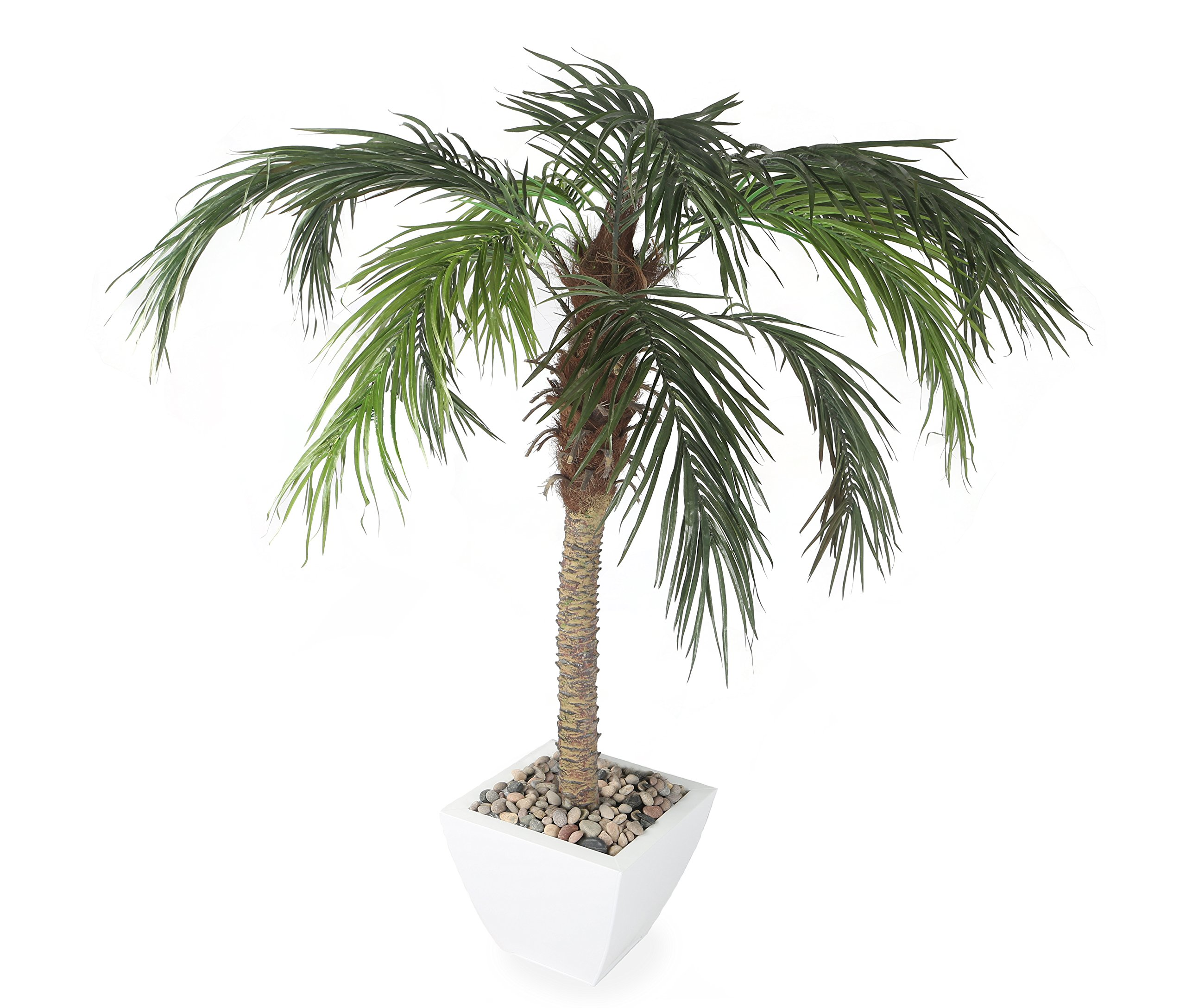 Closer2Nature Artificial 5ft Pygmy Date Palm Tree - Portofino Planter Not Included by Closer2Nature