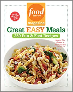 Food network magazine 1 000 easy recipes super fun food for every food network magazine great easy meals 250 fun fast recipes forumfinder Gallery
