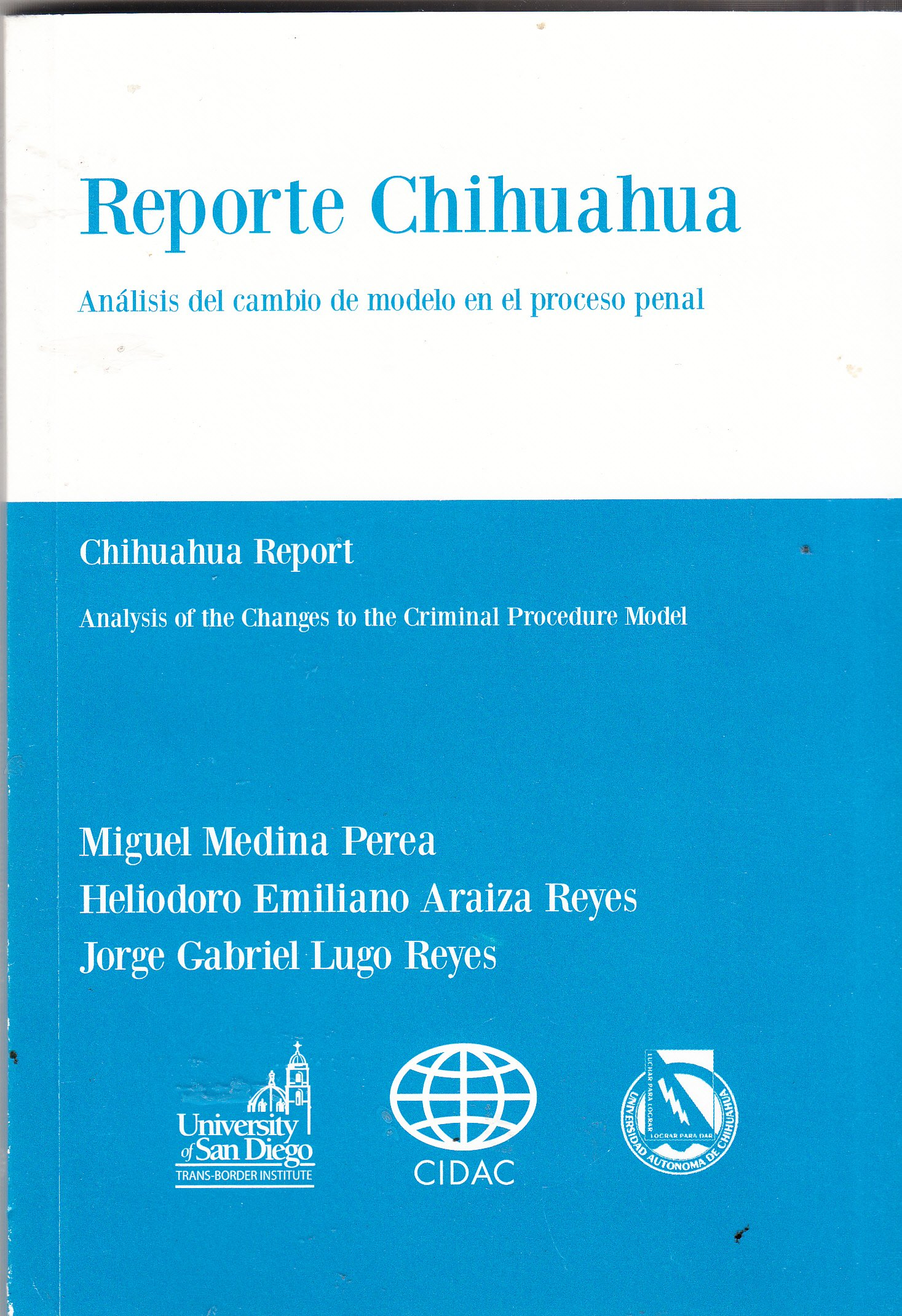 Amazon.com: REPORTE CHIHUAHUA: Análisis del cambio de modelo ...