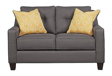Marvelous Amazon Com Benchcraft Aldie Nuvella Contemporary Ibusinesslaw Wood Chair Design Ideas Ibusinesslaworg