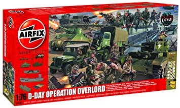Airfix - Diorama con Pinturas, D-Day Operation Overlord Giant (Hornby A50162)
