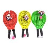 Globo Toys Globo - 37613 42.7 x 20.8 x 0.8 cm 3 Colour Summer Beach Rackets with Ball