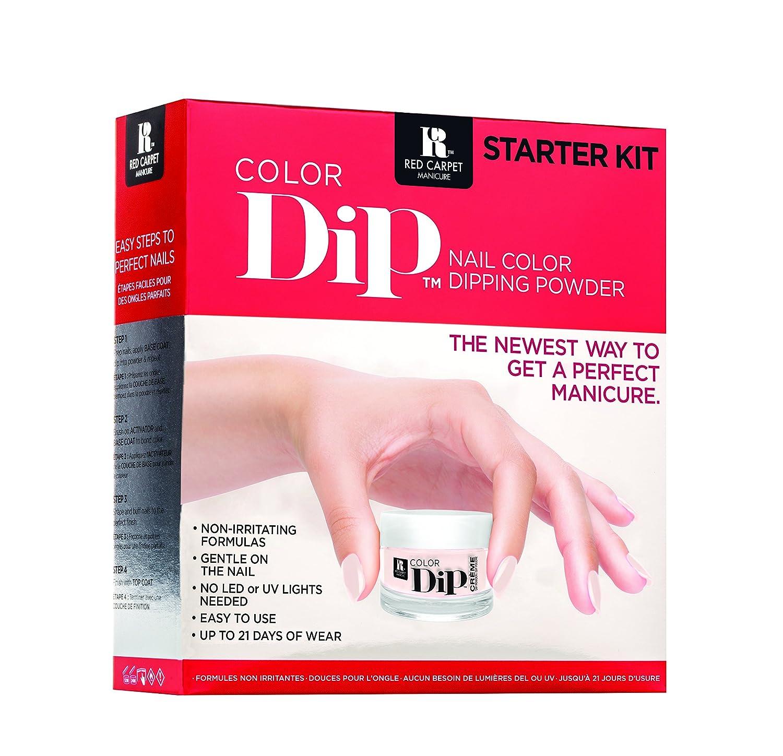 Red Carpet Manicure Farbe Dip, Starter-Set: Amazon.de: Beauty