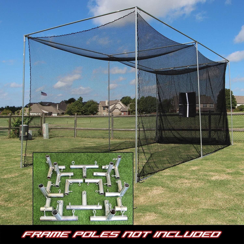 Cimarron 20x10x10 Masters Golf Net Net Only, 20x10x10