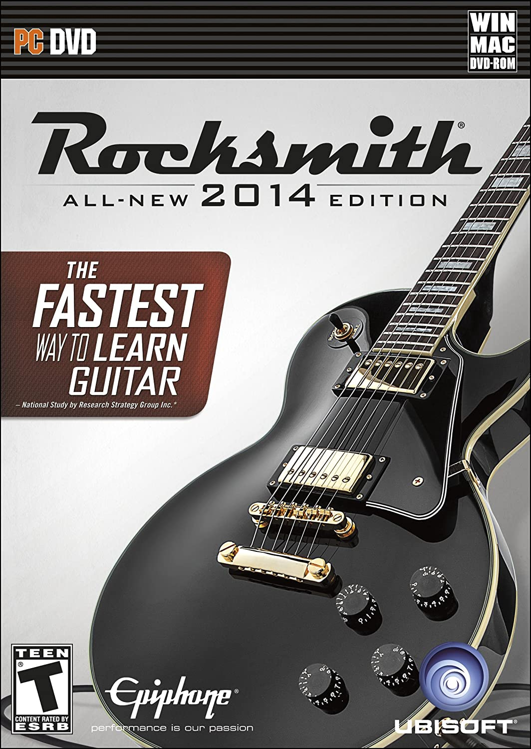 Amazon Rocksmith 2014 Edition Pcmac Cable Included Video