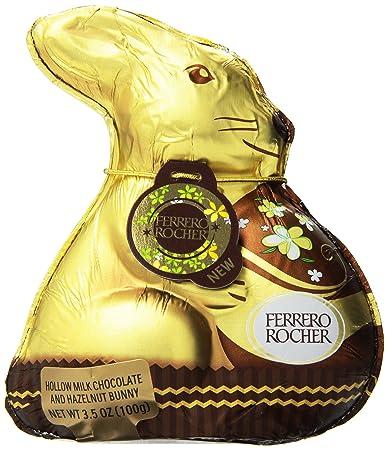 Amazon.com : Ferrero Rocher Chocolate, Bunny, 3.5 Ounce : Grocery ...