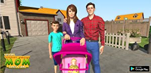 Virtual Mother Happy Family Twins Baby Care Adventure Game from 3Dee Space