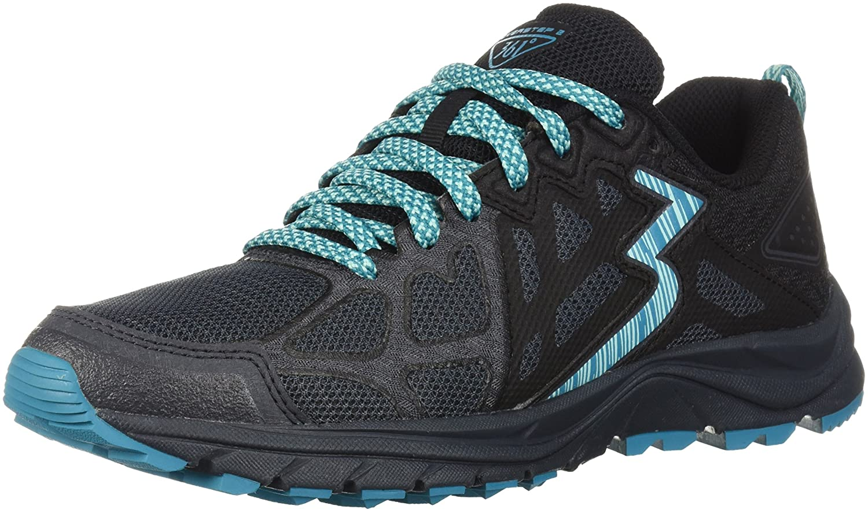 361 Women's 361-Overstep 2 Trail Running Shoe B075V64V9Q 6 B(M) US Ebony/Black_0709
