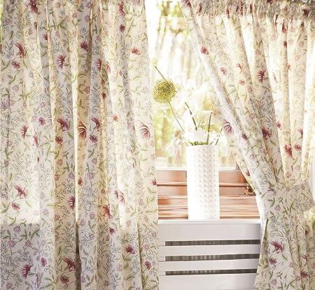 Amazing Belledorm Country Cottage Curtains 168Cm X 137Cm Amazon Download Free Architecture Designs Terchretrmadebymaigaardcom