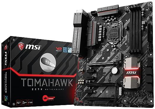 6 opinioni per MSI Z270 Tomahawk Scheda Madre, Formato ATX, Chipset Kabylake, Nero