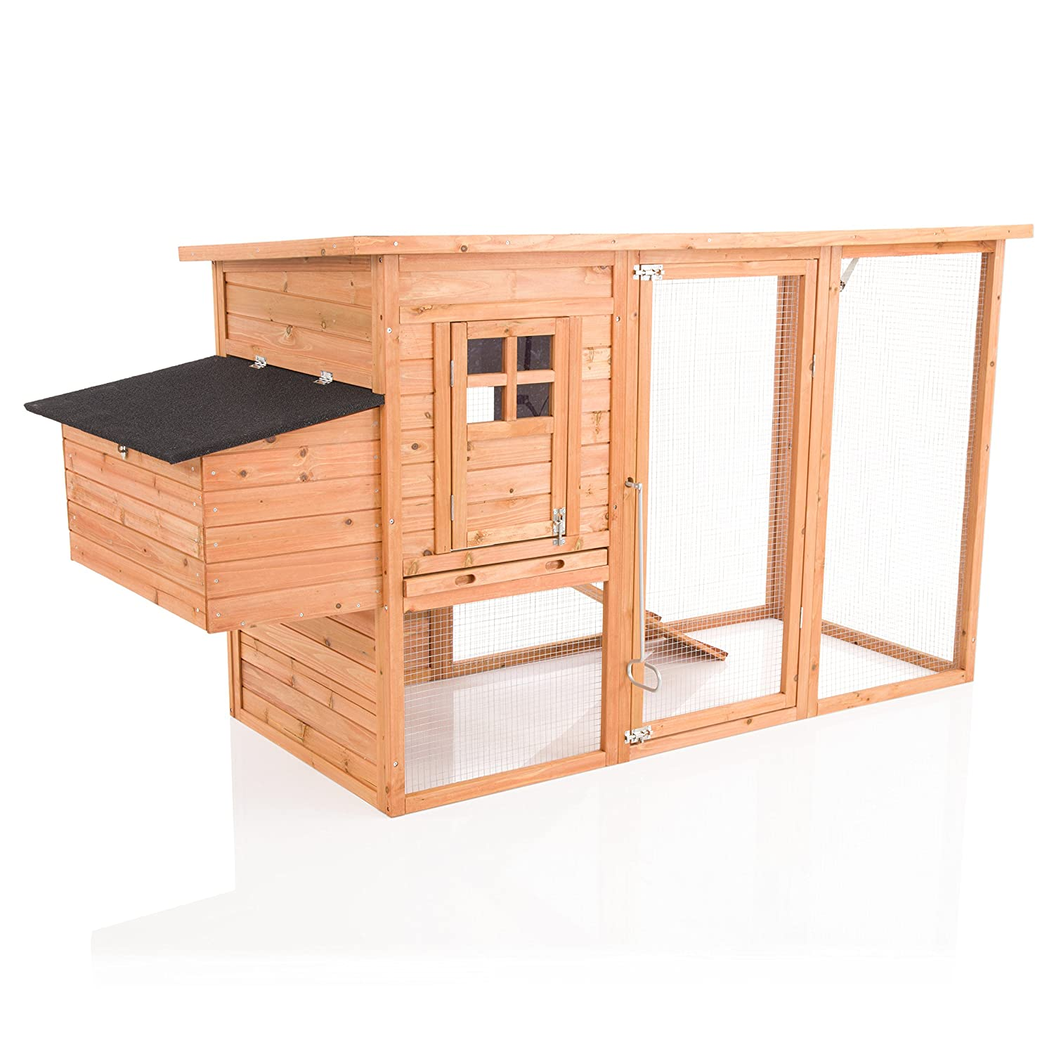Cozy Pet Chicken Coop with Run By Hen House Poultry Coup Rabbit Hutch Ark Nest Box CC06-N (We do not ship to Northern Ireland, Scottish Highlands & Islands, Channel Islands, IOM or IOW.) Cozy Pet Ltd