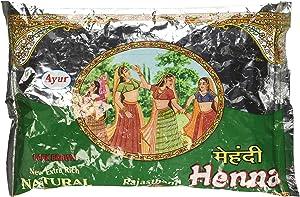 Ayur Rajasthani Henna (Mehandhi) Powder, 200g