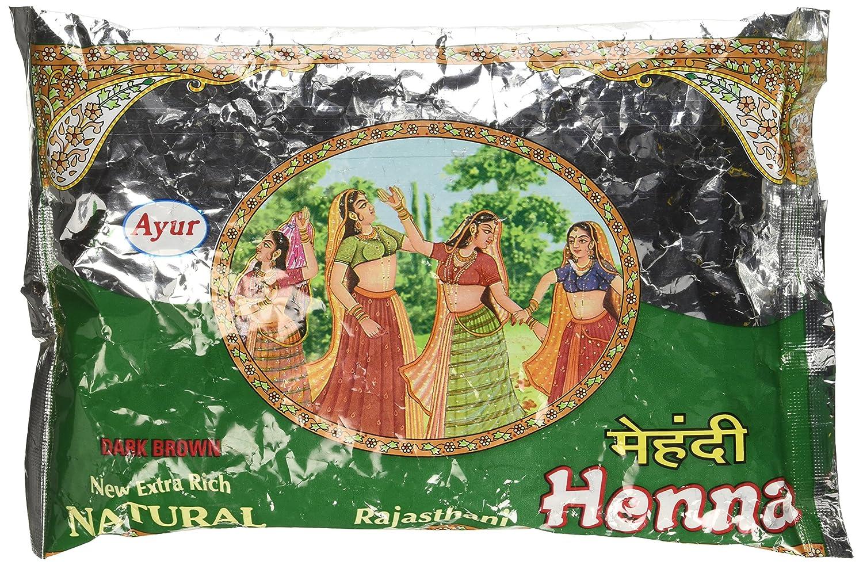Ayur Rajasthani Henna (Mehandhi) Powder, 200g RJ-HNA-200