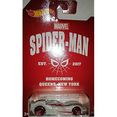 HOT WHEELS 2020 SPIDER MAN HOMECOMING SCOOPA DI FUEGO: Toys & Games