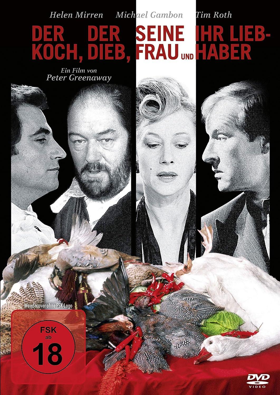 Der Koch, der Dieb, seine Frau und ihr Liebhaber Alemania DVD ...