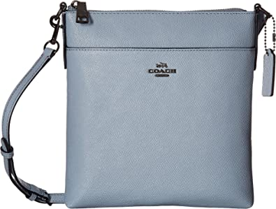 e07b01fb0023 Amazon.com  COACH Women s Messenger Crossbody Dk Pale Blue One Size ...