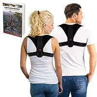 MAVE ATHLETIC Premium Geradehalter zur Haltungskorrektur für Männer und Frauen - Haltungstrainer für eine Gesunde Körperhaltung - Reduzieren Sie Schmerzen in Schultern, Rücken und Nacken