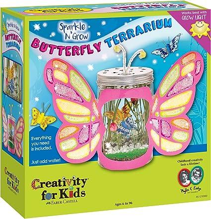 Sparkle Ups Tiny Butterflies Creative Toy Girls X-Mas Gift Set