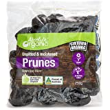 Absolute Organic Unpitted Prunes, 250 Grams
